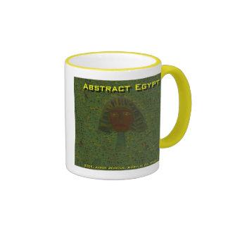 abstract egypt coffee mug