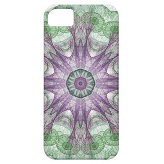 Abstract Electric Jellyfish Cool Fractal green r iPhone 5 Case