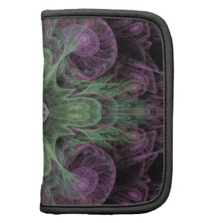 Abstract Electric Jellyfish Cool Fractal pg on b Folio Planner