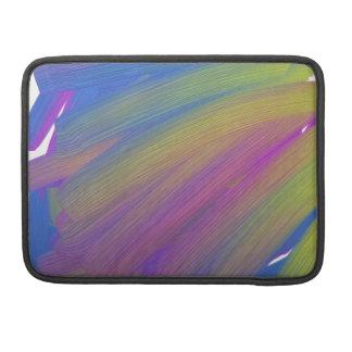 Abstract electronics MacBook pro sleeve