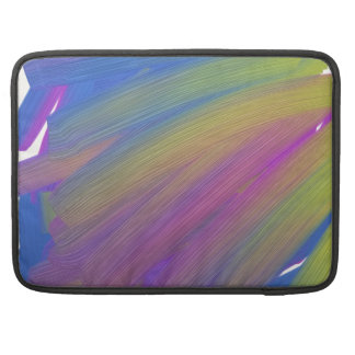Abstract electronics sleeve for MacBook pro