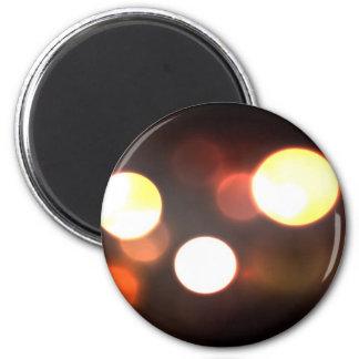 Abstract Elegant Bokeh Blur 2 Inch Round Magnet