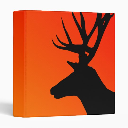Abstract Elk Head Avery Binder