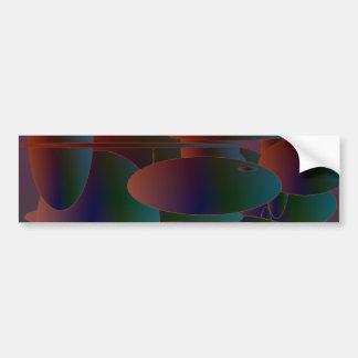 Abstract Ellipses #3 Bumper Sticker