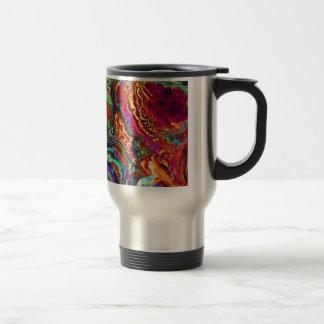 Abstract Enamel, colorful fantasy Mugs