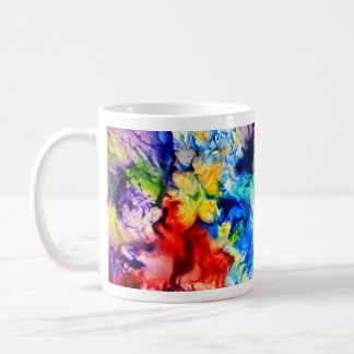 Abstract Encaustic Pattern Classic White Mug