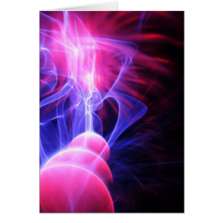 Abstract energy background greeting cards
