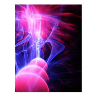 Abstract energy background post card