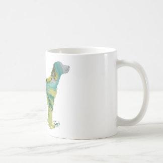 Abstract English setter silhouette Coffee Mug