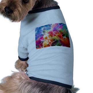 Abstract especie camisetas mascota