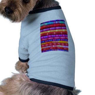 Abstract especie camisas de mascota