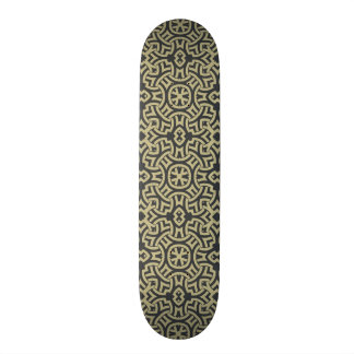 Abstract ethnic background 2 skateboard deck