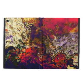 Abstract Evening Red, Cream and Midnight Blue Art Powis iPad Air 2 Case