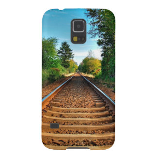 Abstract Everyday Along The Tracks Galaxy S5 Cases