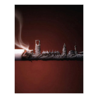 Abstract Everyday Building The Ashes Letterhead