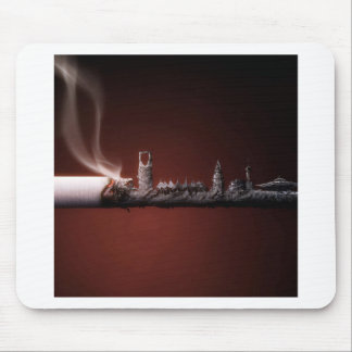 Abstract Everyday Building The Ashes Mouse Pad