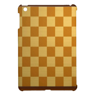 Abstract Everyday Chess Board iPad Mini Cover