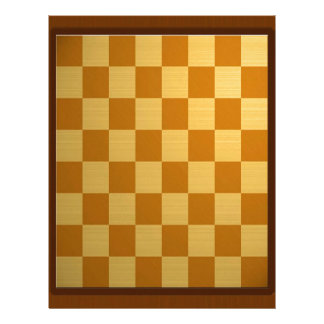 Abstract Everyday Chess Board Letterhead Template