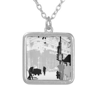 Abstract Everyday City Life Jewelry