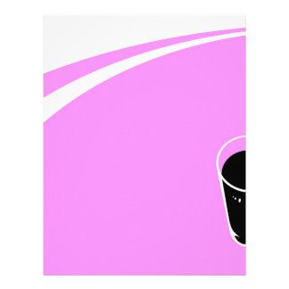 Abstract Everyday Juice Loose Letterhead Template
