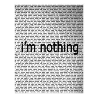 Abstract Everyday Nothing Letterhead Template
