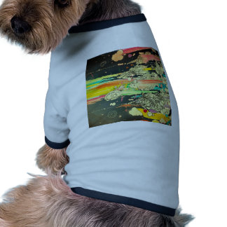 Abstract Everyday Splash Paint Doggie T Shirt