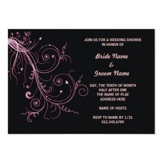 Abstract Explosion 5x7 Paper Invitation Card