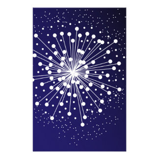 Abstract Explosion Stationery