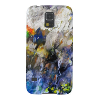 Abstract Expression Galaxy S5 Cover