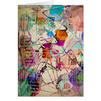 Abstract Expressionism 1 Card