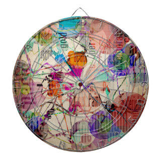 Abstract Expressionism 1 Dart Board