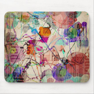 Abstract Expressionism 1 Mouse Pad
