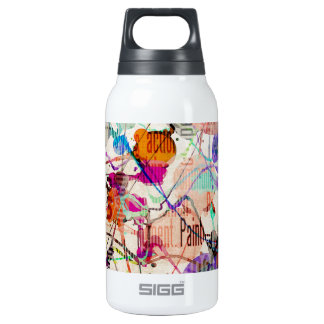Abstract Expressionism 1 Thermos Bottle