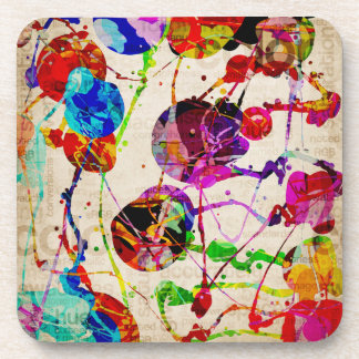 Abstract Expressionism 2 Coaster
