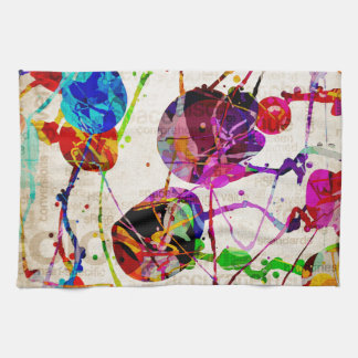 Abstract Expressionism 2 Kitchen Towel