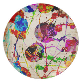 Abstract Expressionism 2 Plate