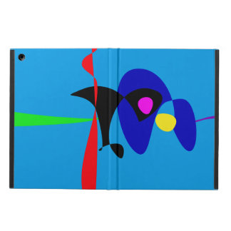 Abstract Expressionism Simple Digital Art iPad Air Case