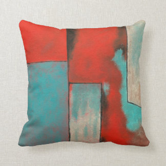 Red and turquoise pillows decorative throw pillows for Turquoise and red throw pillows