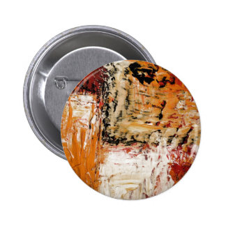 Abstract Expressionist Pinback Buttons