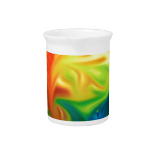 abstract expressionist color colorful hope drink pitchers