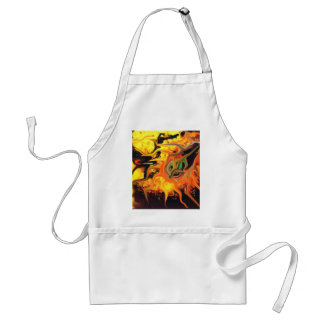 abstract expressionist doubt adult apron