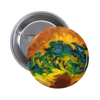 abstract expressionist geometric despair 2 inch round button