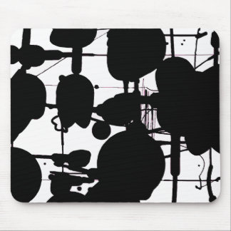 Abstract Expressionist Mouse Pad