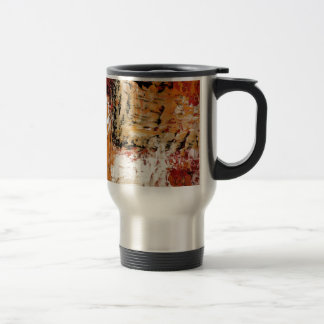 Abstract Expressionist Coffee Mugs