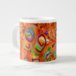 Abstract Extra Large Mugs