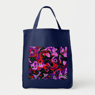 Abstract Eye 2 Canvas Bags