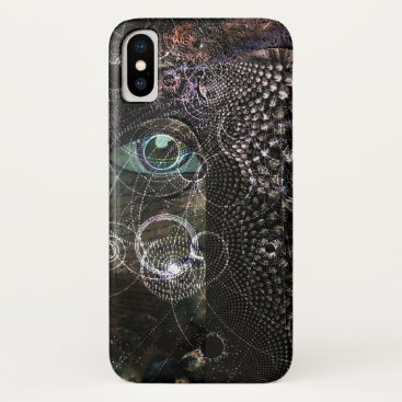 Abstract eye iPhone x case