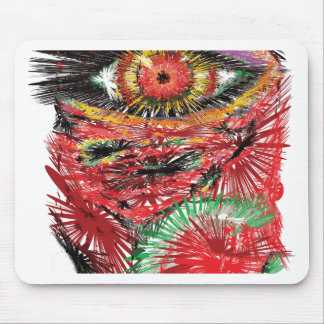 Abstract Eye Mouse Pad