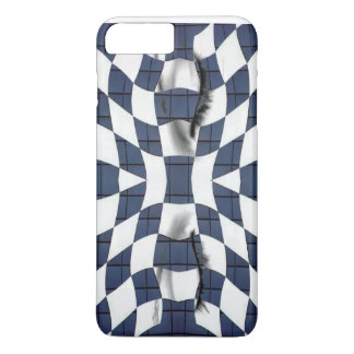 abstract eyes phone case