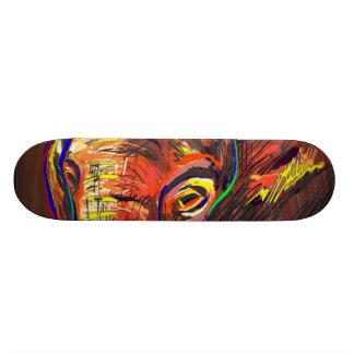 Abstract Eyes Skateboard Decks